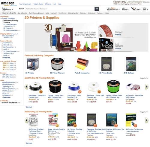 Amazon-3D-Printing-Additive-Manufacturing-Section