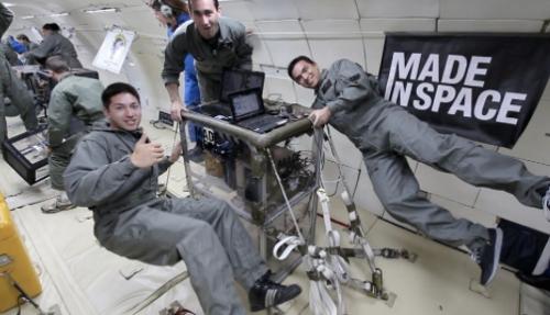 Made in Space - Weltraum 3D-Drucker erfogreich im schwerelosen Zustand getestet