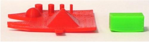 3D gedruckte Elemente