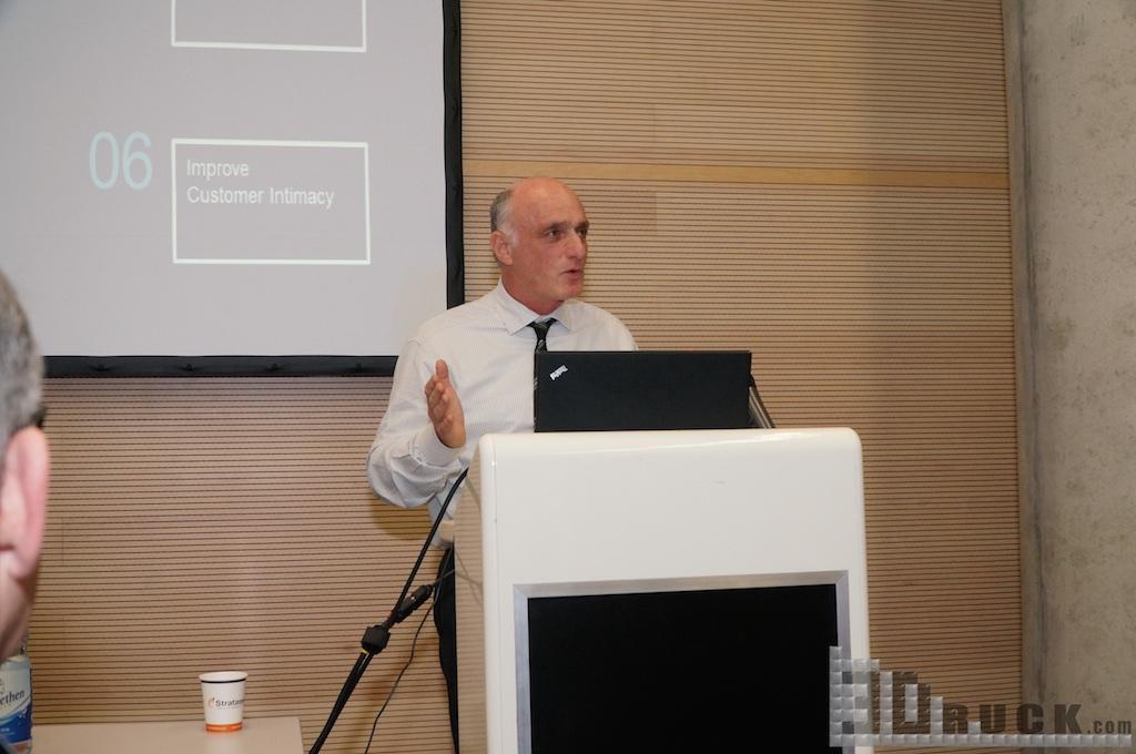 David Reis, Stratasys CEO