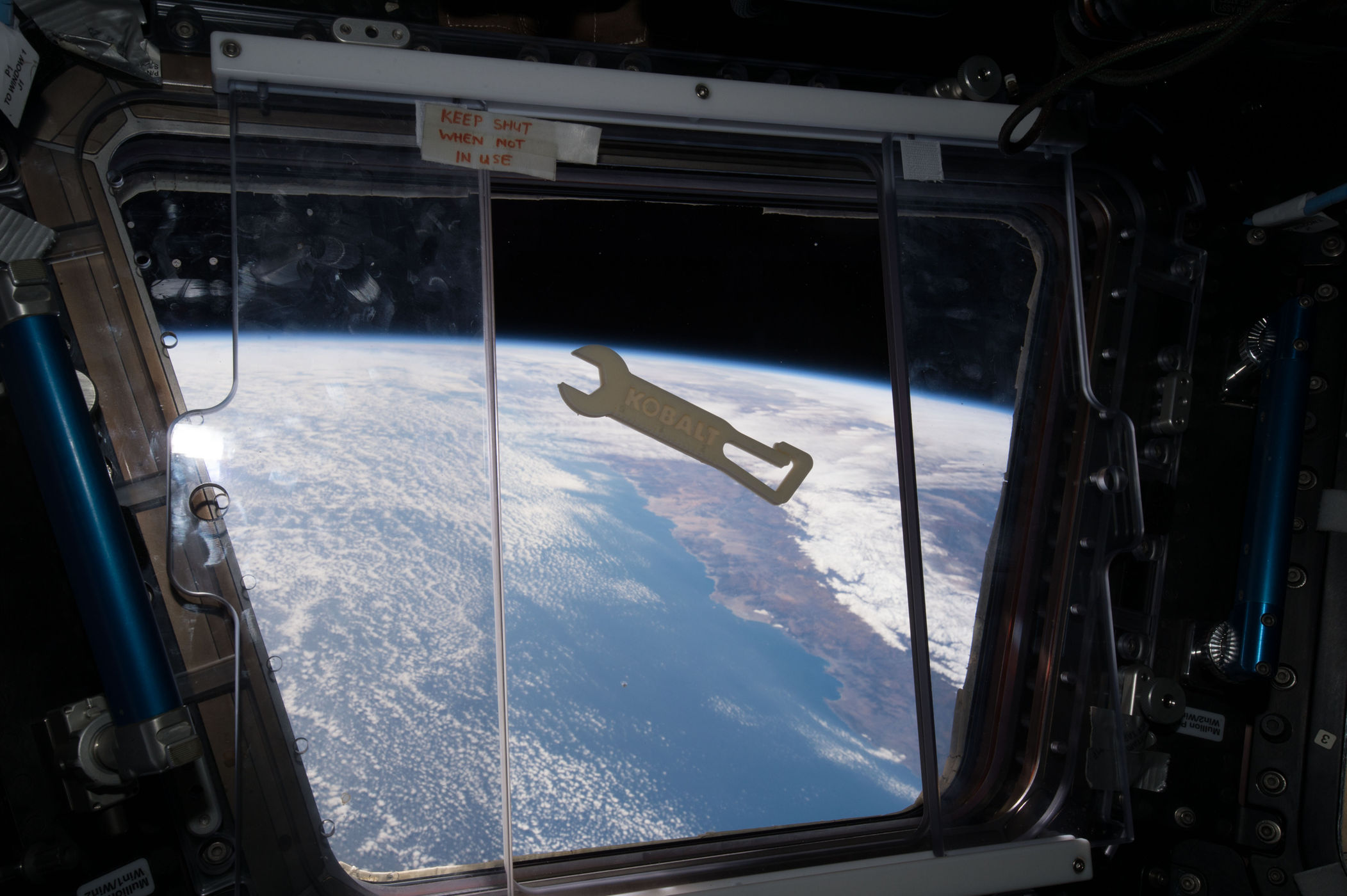 Image: NASA/Made In Space/Lowe's