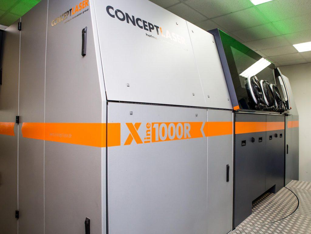 X line 1000R bei Poly-Shape (Bildquelle: Poly-Shape)