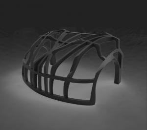 Chassis 3D Auto klein HAGE3D