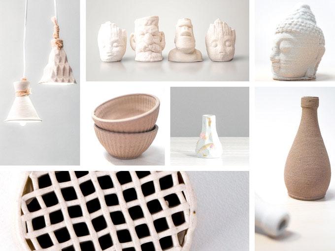 Drucke des Cerambot Keramik-3D-Drucker