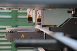 Blick in die HAGE3D Proline beim Fertigungsprozess