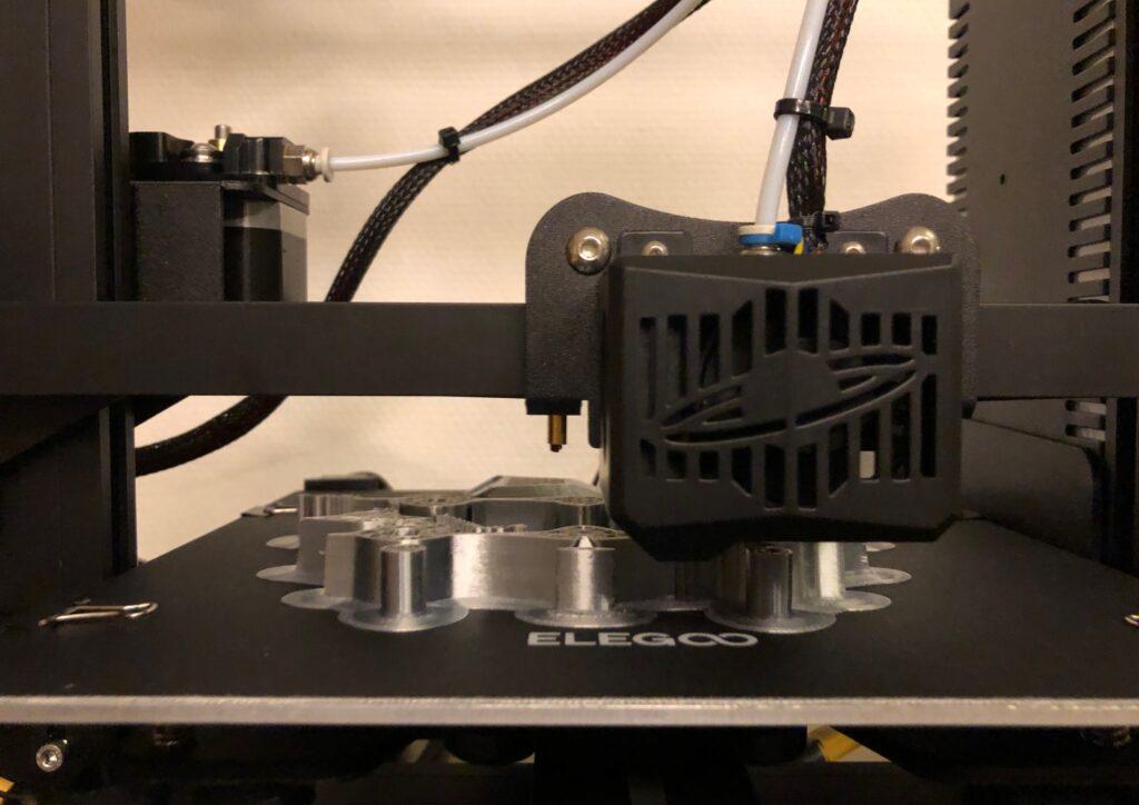 Testdruck: 0,1mm Silk-PLA