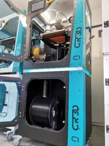 CR-3D Filament-Station mit geladener 10kg Filamentspule
