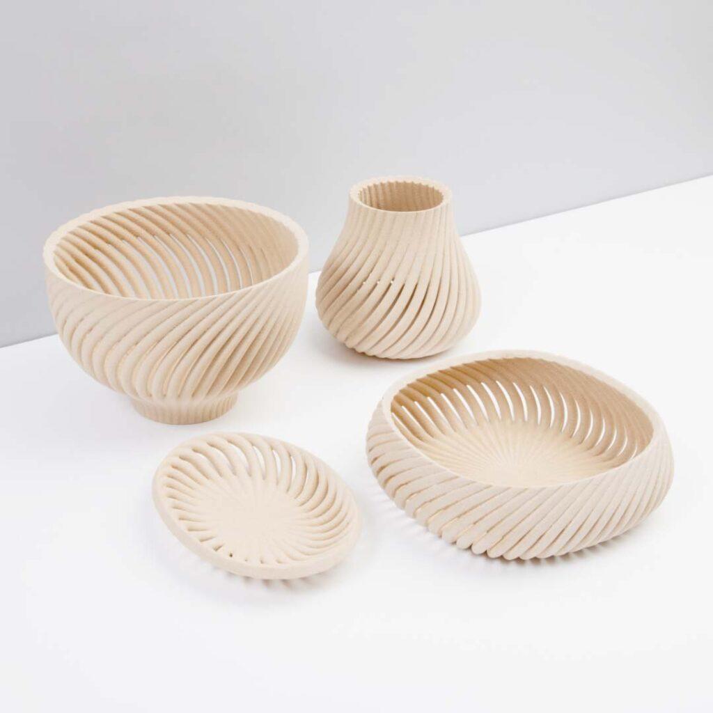 3D-gedruckte Körbe
