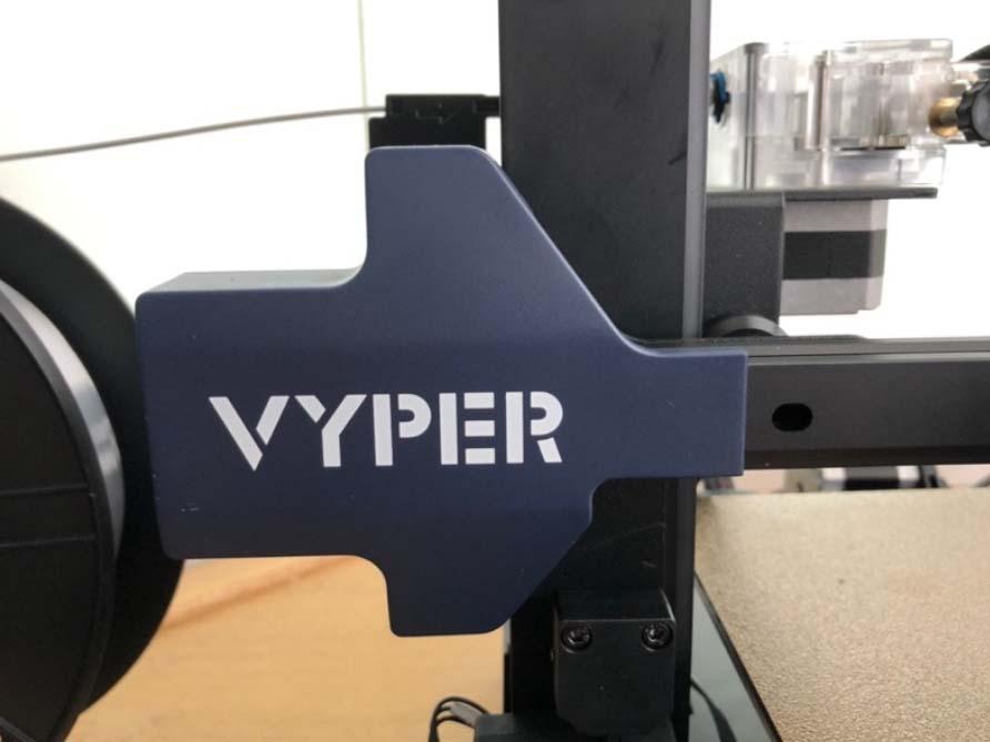 Anycubic Vyper – Auch die Kunststoffteile wirken wertig
