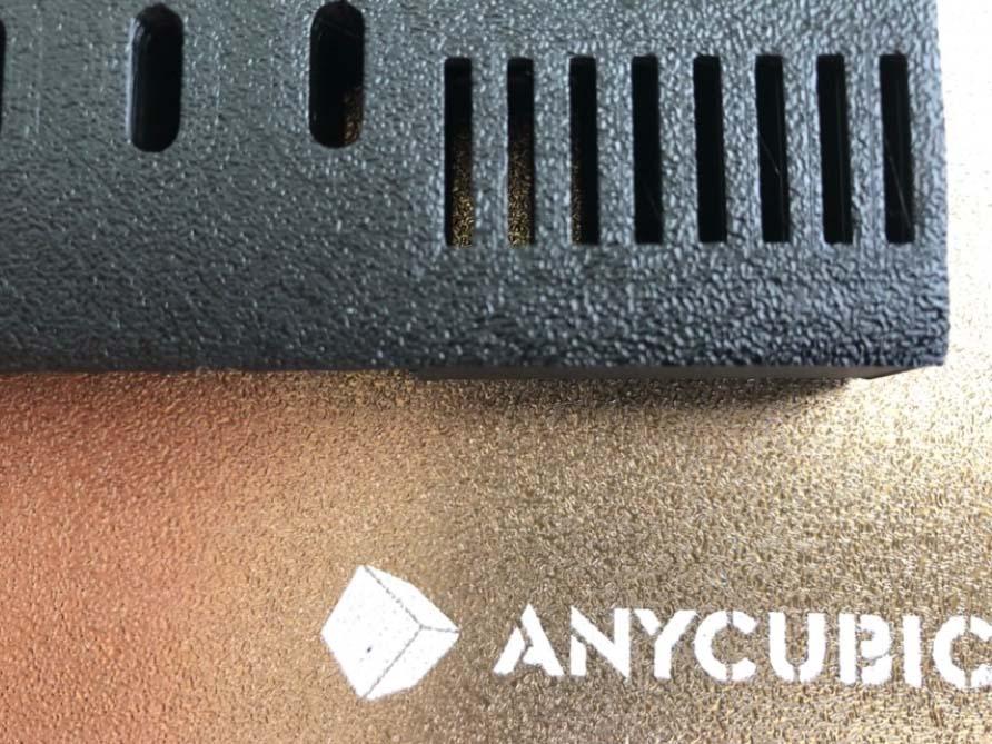 Anycubic Vyper – Raue erste Schicht