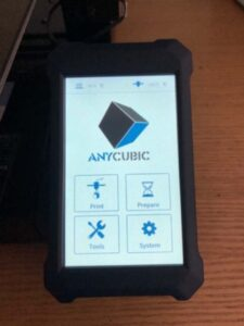 Anycubic Vyper – Farb-Touchscreen